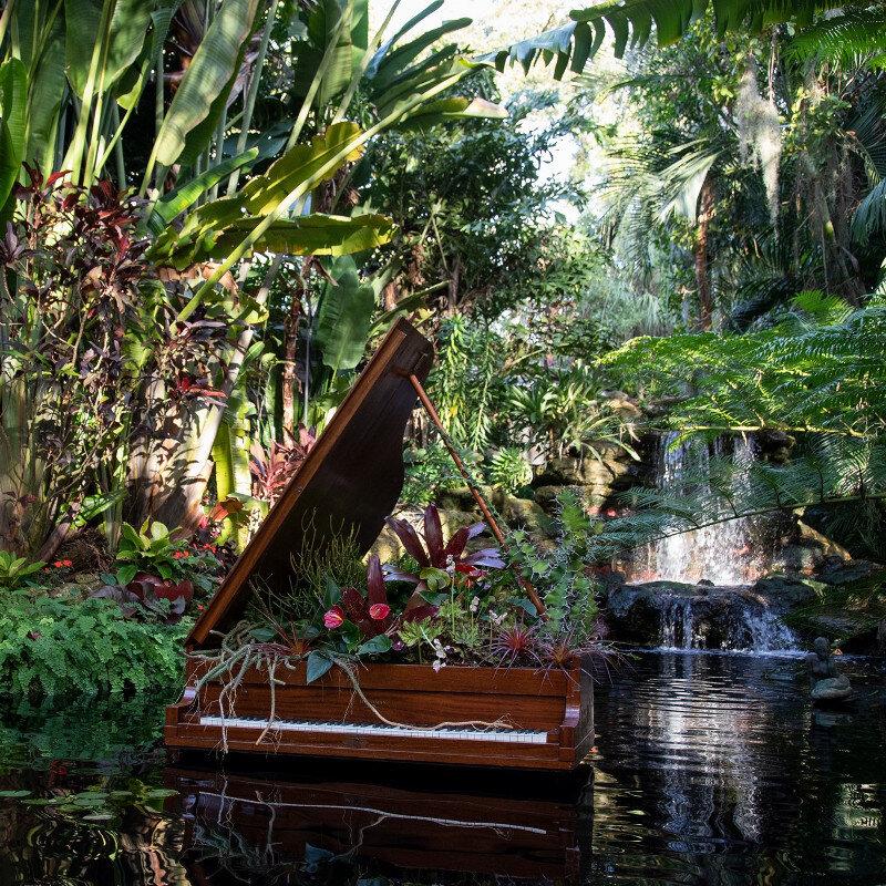 Salvador Dali Exhibit Gardens of the Mind