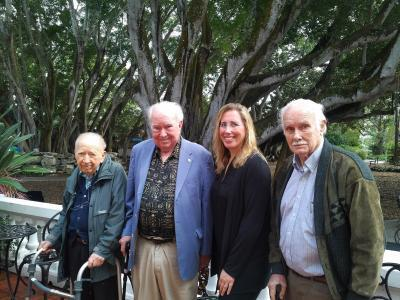 Dr. Peter Raven Return to Selby Gardens