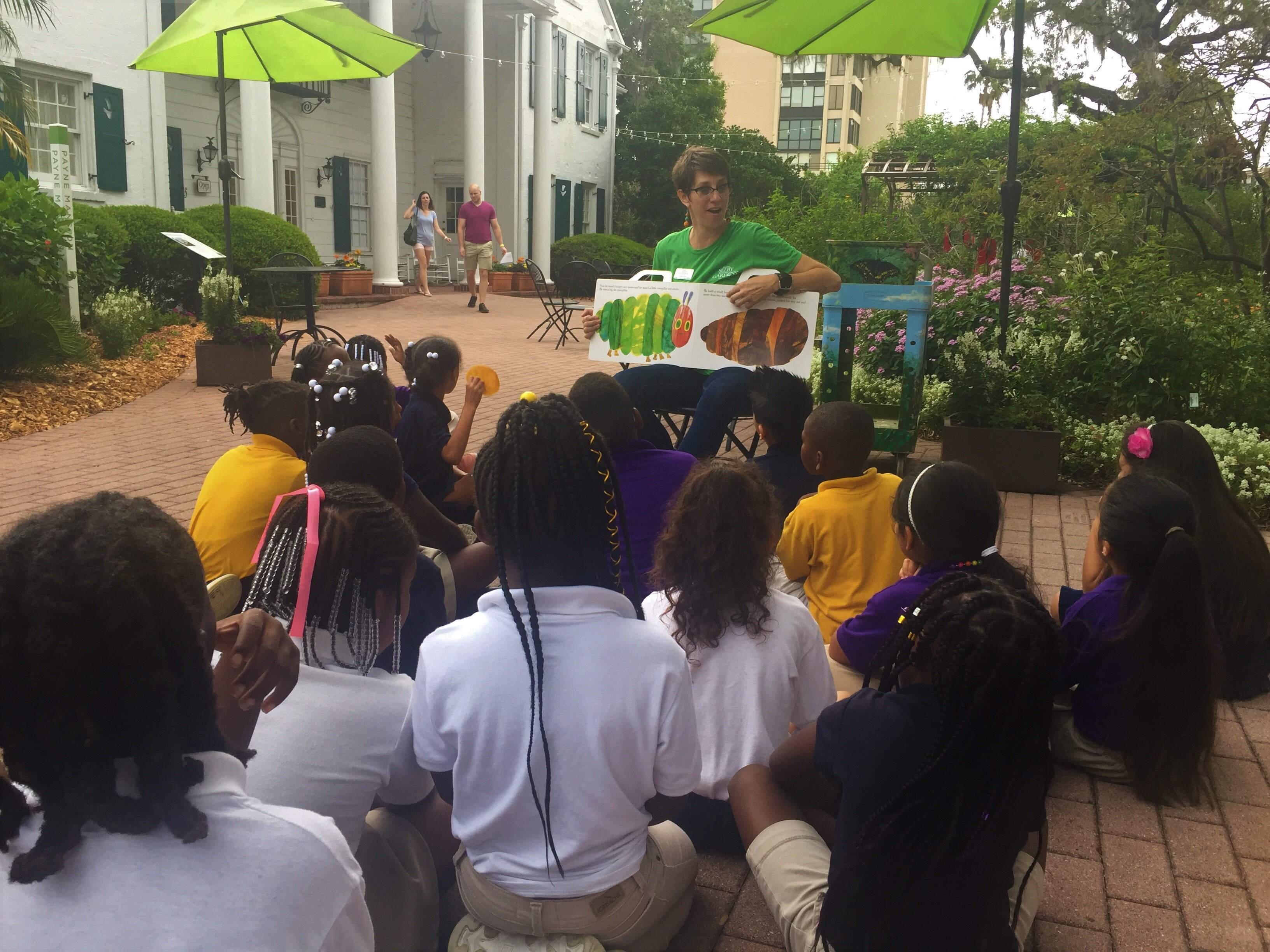Selby Gardens Goes Wild About Literacy!