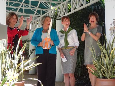 Senator Detert Visits to Review Improvements at Selby Gardens