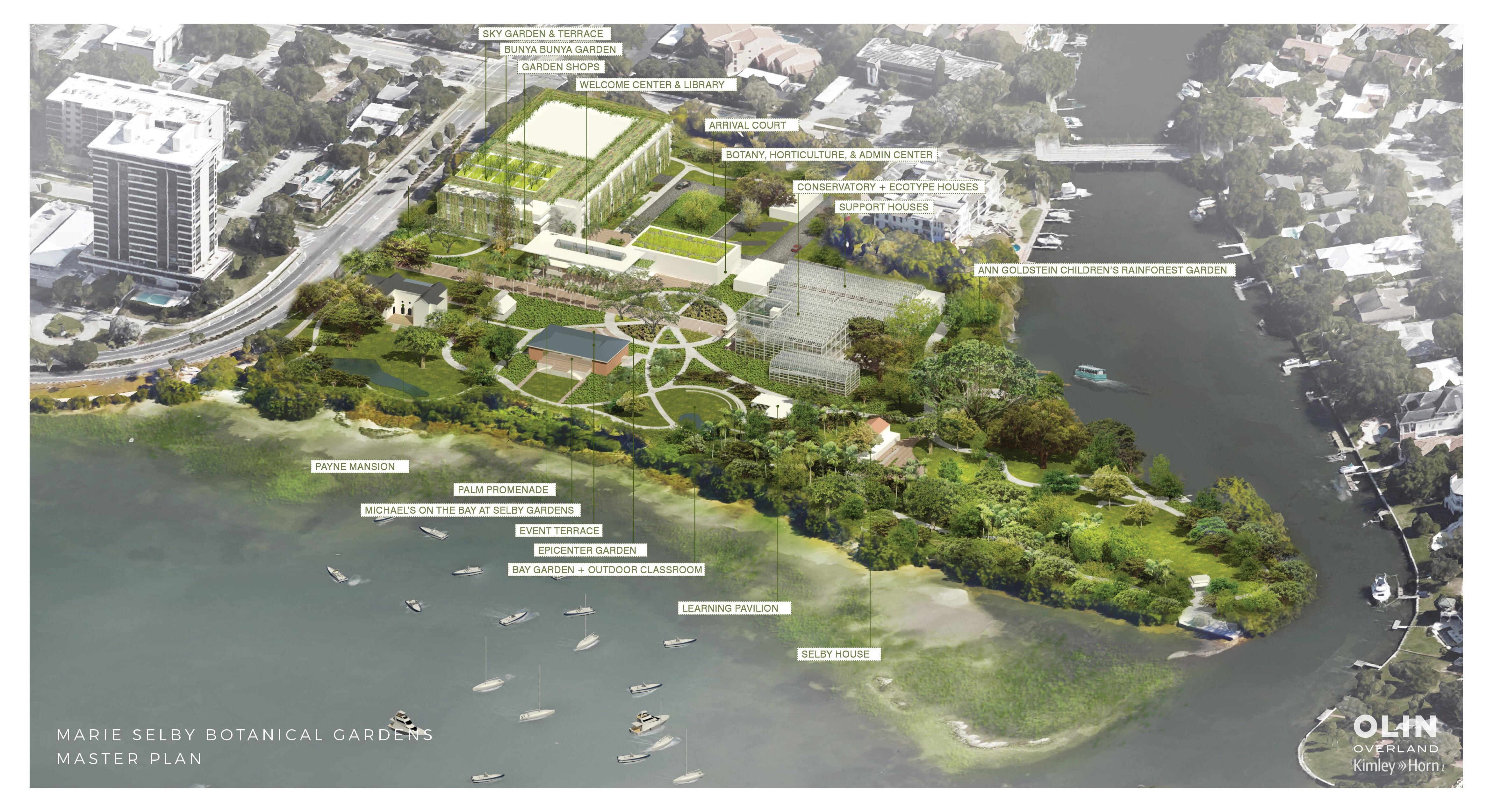 Selby Gardens Unveils Master Site Plan