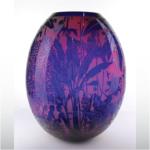Purple and Blue Vase