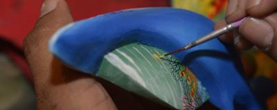 Borucan Mask Painting