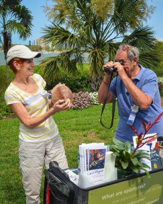Volunteers Enrich the Experience of Selby Gardens' Visitors