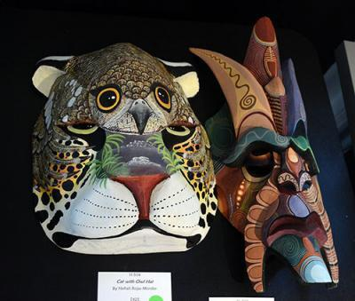 New masks added to the Rainforest Mask exhibit