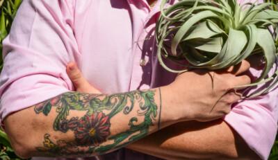 Botanical Body Art